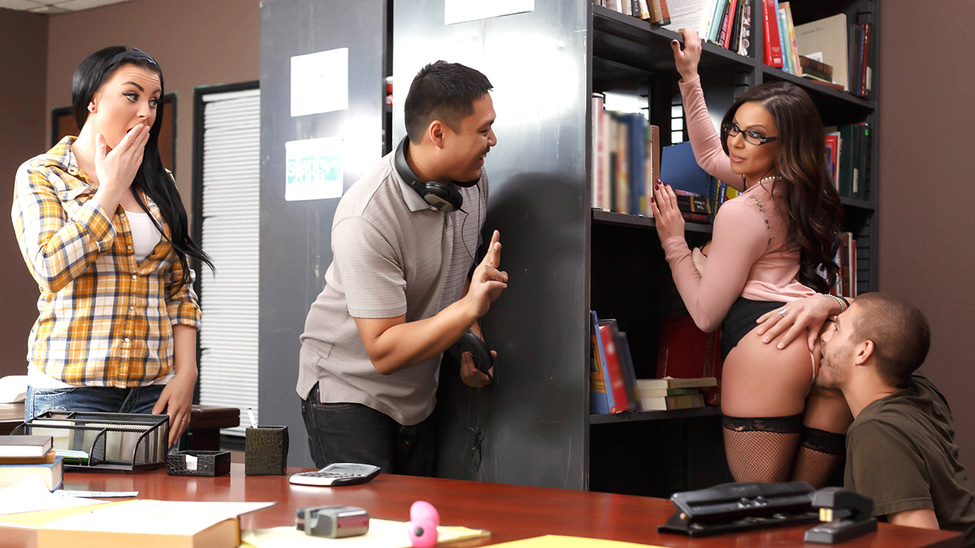 Kendra Lust in Librarian Needs A Licking