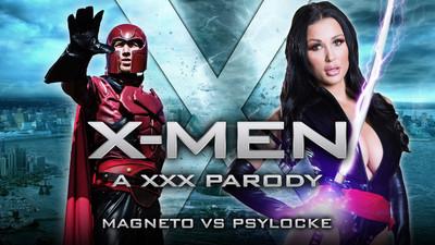 XXX-Men: Psylocke vs Magneto XXX Parody