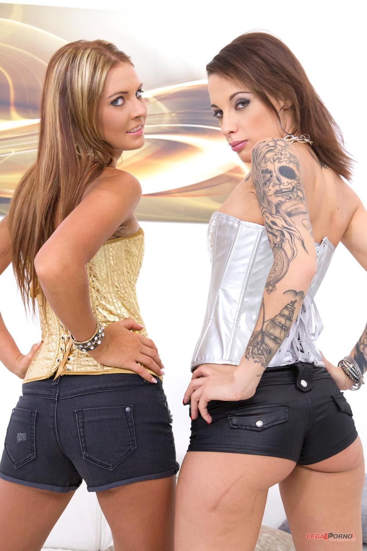 Nikita Bellucci and Timea Bella
