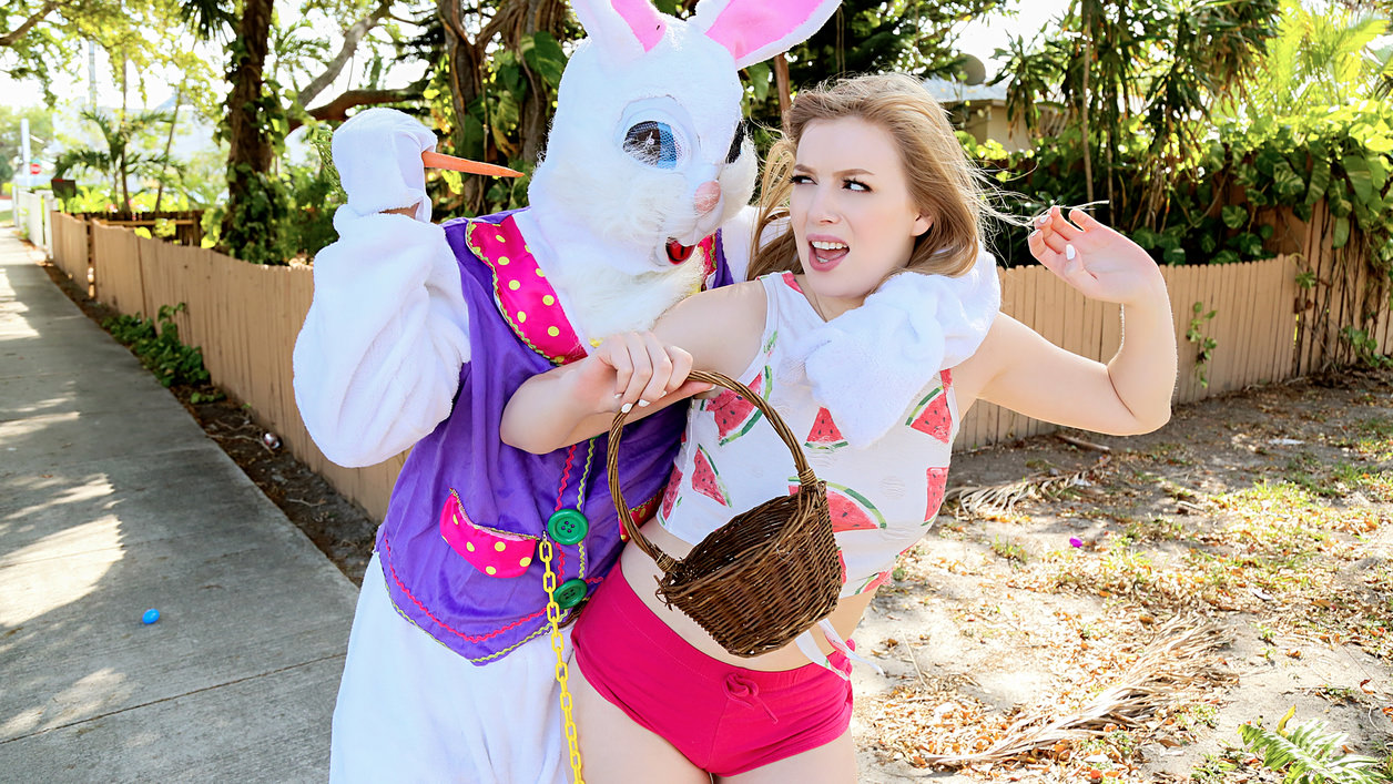 Dolly Leigh in Stealing from the Easter Bunny's Basket