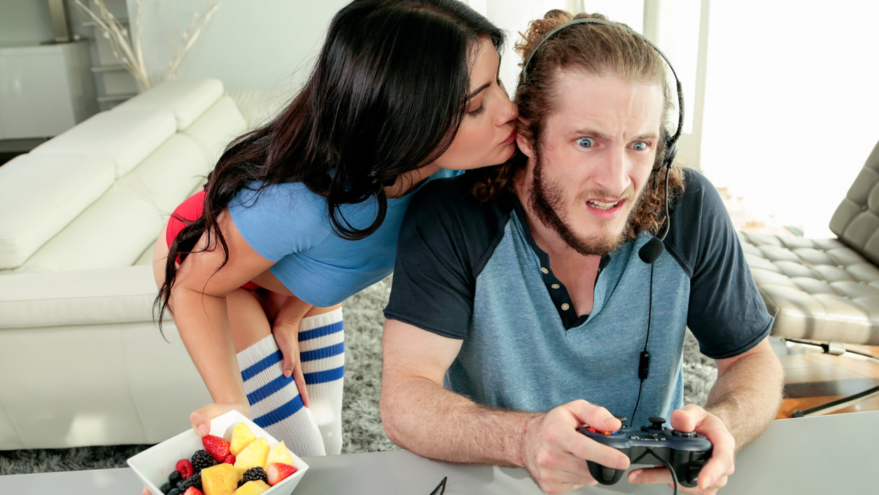Adria Rae in Lazy Sunday Relationship Goals with Adria Rae
