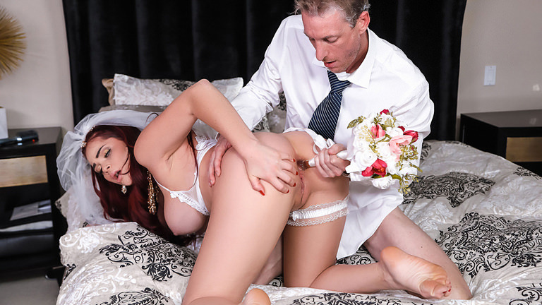 Skyla Novea in The Cum Spattered Bride